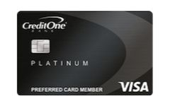 credit one platinum